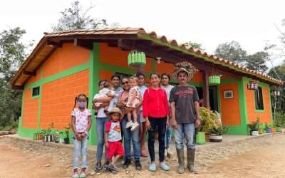 En San Carlos se está ejecutando el proyecto de vivienda rural