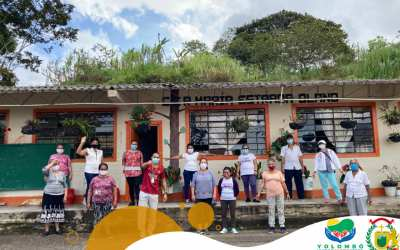 En Yolombó se está implementando la actividad física en los adultos mayores