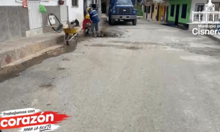 Cisneros trabaja por la infraestructura
