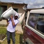 Ayudas alimentarias y de insumos en Angostura