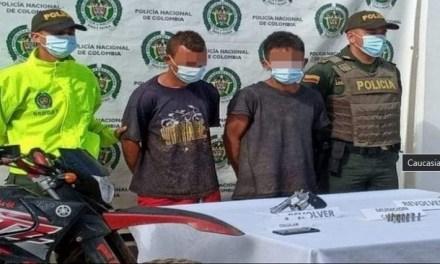 Detenidos presuntos asesinos del policía Edison Ferney