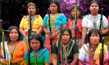 Familias indígenas abandonadas