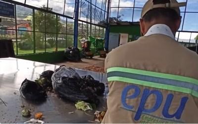 Proceso de los residuos orgánicos en Urrao