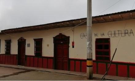 Realiza eventos en la Casa de Cultura de Toledo, Antioquia