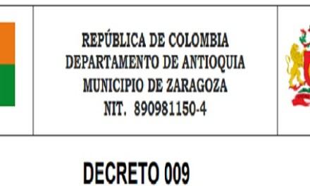 Zaragoza, Antioquia, aumenta su Plan de Acción