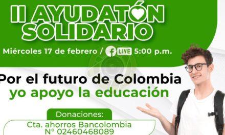 Ayudatón Solidario, una nueva alternativa para beneficiar a estudiantes