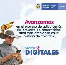 El proyecto Centros Digitales de MinTIC