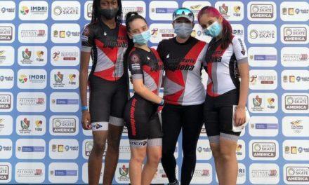 Tres patinadoras del club José María Córdoba de Rionegro están resaltando en Ibagué