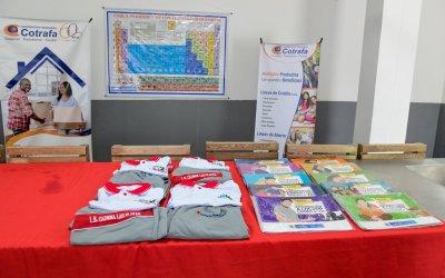 Apartadó recibe donación para estudiantes rurales