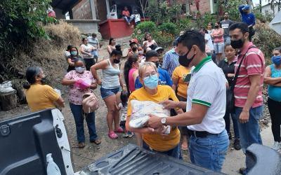 Ayuda administrativa a los damnificados de Dabeiba