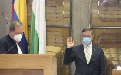 El Gobierno Nacional ratificó a Luis Fernando Suárez como gobernador encargado del departamento