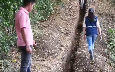 Nuevo acueducto en La Pintada