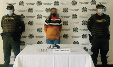 En Sonsón capturaron a una mujer por agredir con arma de fuego a otra persona