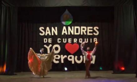 Celebraron el día de la danza con bailes en San Andrés de Cuerquia