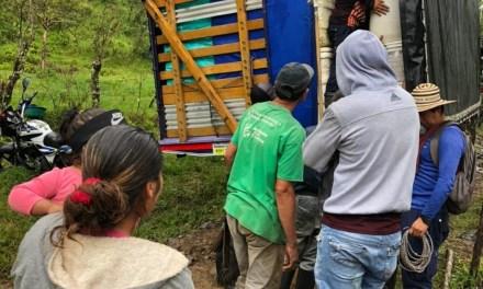 Nueva ubicación de reincorporados de las Farc en Ituango