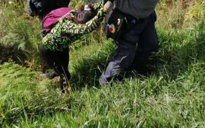 Rescataron turistas en el Cerro Tusa