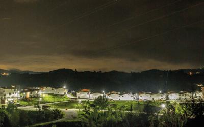 Más de $400 millones se han invertido en iluminación LED en San Vicente