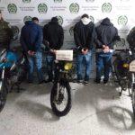 En El Retiro fueron capturadas cuatro personas que se dedicaban al hurto de motocicletas