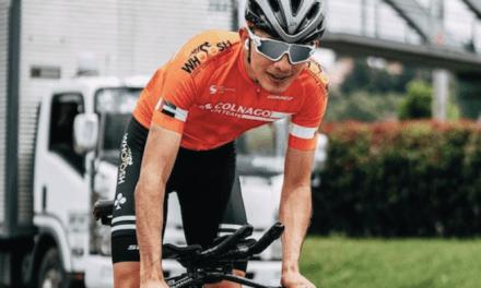 Ciclista de San Vicente está dejando el nombre en alto en el inicio de la Vuelta de la Juventud
