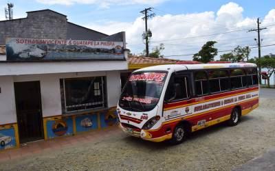 Murió el presunto delincuente que pretendía atracar un bus en la vía El Peñol – Guatapé