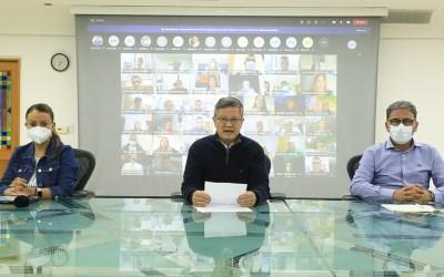 El gobernador encargado del departamento convoca a los ciudadanos a un gran diálogo social