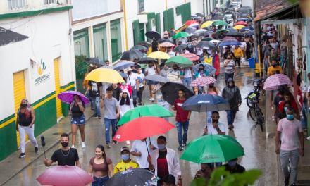 En Amalfi alrededor de 700 ciudadanos llevan más de 5 días en paro