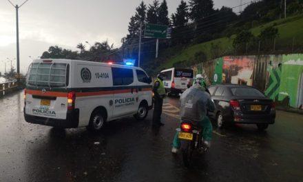 Emergencia en Medellín por fuertes lluvias