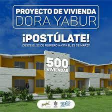 Inscripciones para proyecto de vivienda en Turbo, va hasta el 18 de junio