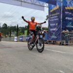 Esteban Guerrero es el primer líder de la Clásica de Ciclismo de Rionegro