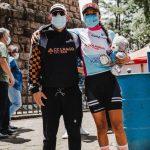 Ciclista de La Unión es campeona Sub 23 de la Vuelta a Guatemala