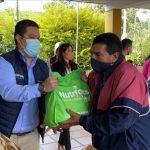 Comenzó la entrega de paquetes alimentarios en Rionegro