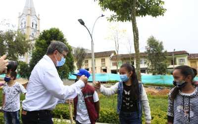 Se realizó el primer Encuentro Zonal de la Agenda Antioquia 2040 en Caramanta