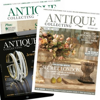 Antique Collecting magazine covers