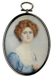 'Miss Horton' by Mrs Gertrude Massey (1868-1957)