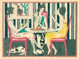 A Japanese print