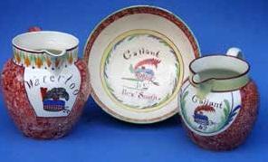 Rare Scottish creamware