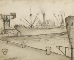 LS Lowry's Queen's Dock, Glasgow
