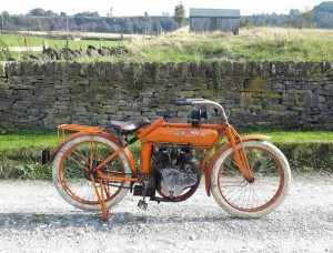 A classic British motorcycle in Bonhams' auction