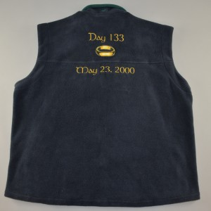Christopher Lee's Lord of the Rings gilet