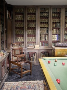 Hooton Pagnell Hall snooker table