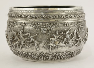 An early 20th century Burmese bowl