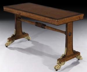 Regency George IV side table, attributable to Morel and Seddon, English, c1826