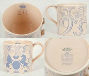 Wedgwood earthenware commemorate mug