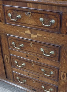 Early 19th century oak dresser