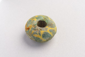 Viking large glass bead