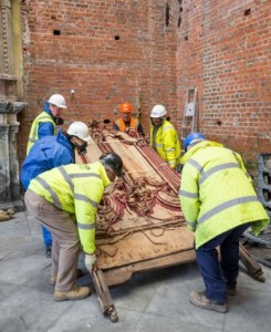 The fire at Clandon Park