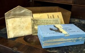 Treasure inside the bureau
