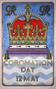 George VI coronation poster