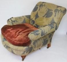 An Irish club type chair