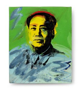 Mao, 1973, by Andy Warho